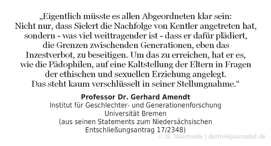 Zitat Prof. Dr. Gerhard Amendt