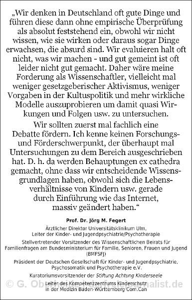 Zitat Prof. Dr. Jörg M. Fegert