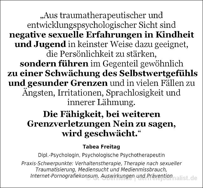 Zitat Dipl.-Psychologin Tabea Freitag, Hannover