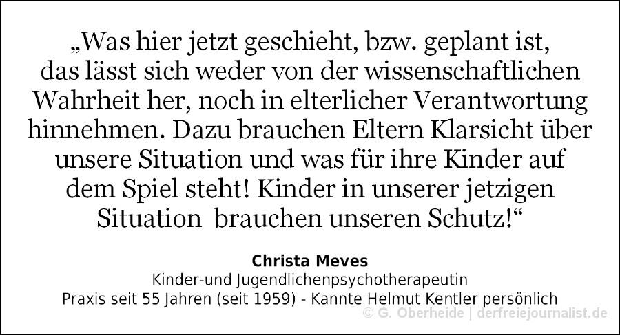 Zitat Christa Meves