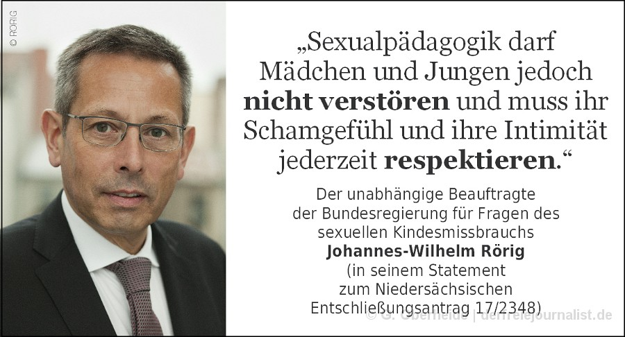 Zitat Johannes-Wilhelm Rörig // Klicken, zum Lesen der vollständigen Stellungahme
