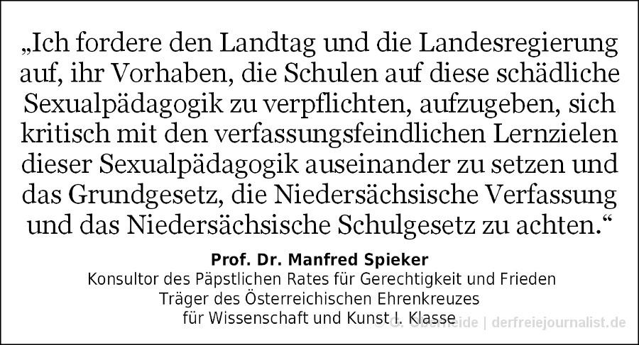 Zitat Prof. Dr. Manfred Spieker