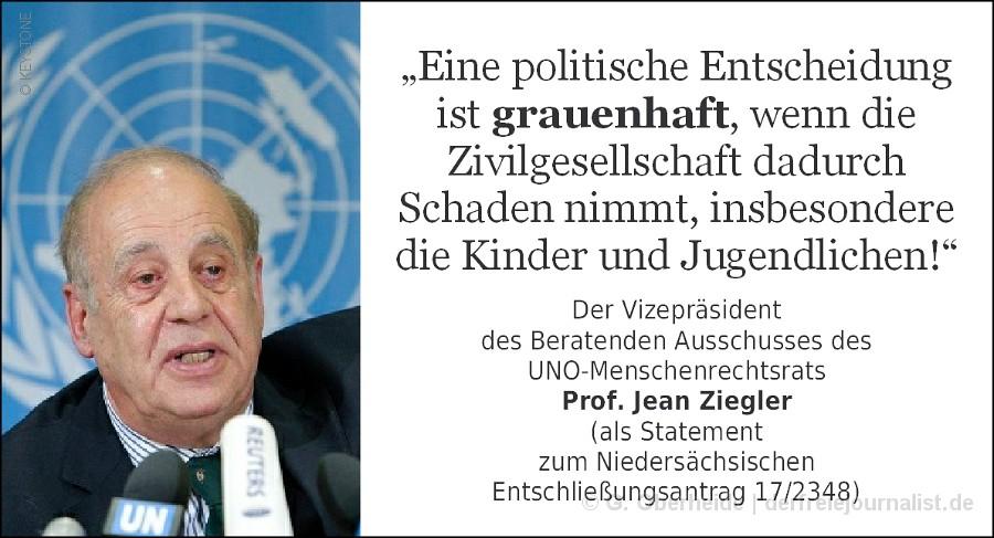 Zitat Prof. Jean Ziegler