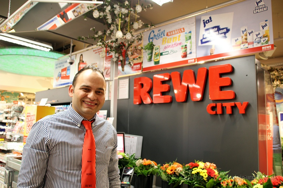 REWE-City Kirchrode: Inhaber Andreas Friesen