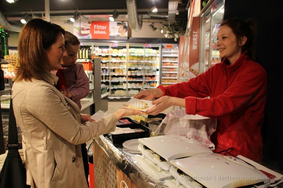 Foto: Zur Neueröffnung gab es eine ganze Anzahl kostenfreier Verköstigungsangebote