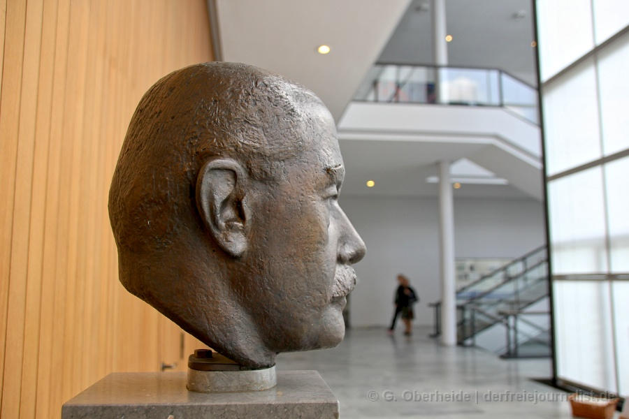Hinrich Wilhelm Kopf-Büste im Niedersächsischen Landtag