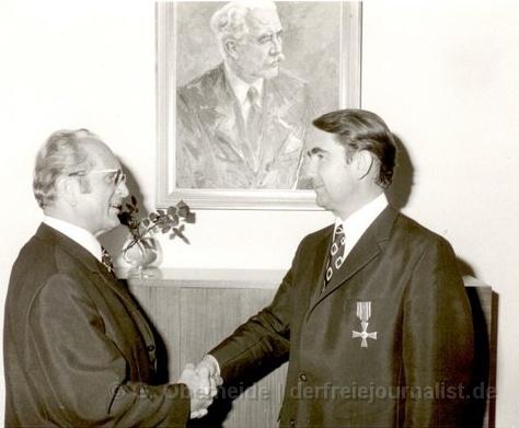 Landtagspräsident a.D. Horst Milde (SPD) [Archivbild]