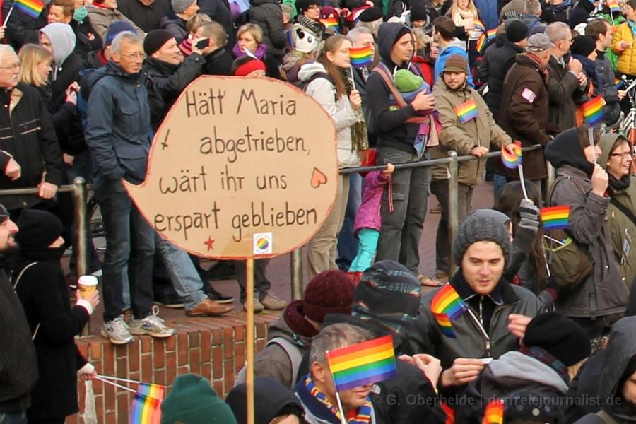 Pastor i. R. Josua von Gottberg: ''Es hat mich erschreckt, in höchstem Maße erschreckt, der Hass und die Leidenschaft der anderen Seite!''