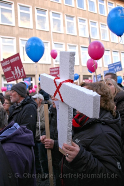 Pastor i. R. Josua von Gottberg: ''So Gott will, werde ich mich weiterhin einsetzen.''