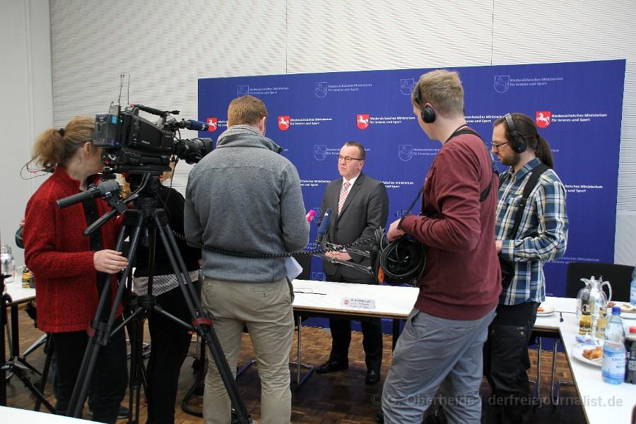 Pressekonferenz Polizeiliche Kriminalstatistik 2015, (c) G. Oberheide